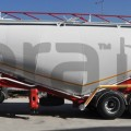 Banana Type Cement Bulk-Semi Trailer
