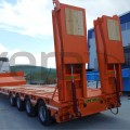 Low Bed_Low-Bed_Lowbed_Low Loader_Lowboy_Low bed_Semi-Trailer_Low-bed_Semitrailer_4_axle_low bed
