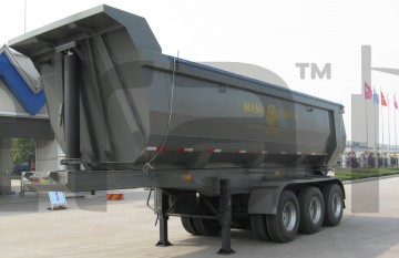 U-Shape-Tipper-Trailer